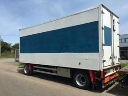 koelwagen aanhanger Jumbo 200 - 2 As Vrachtwagen Aanhangwagen Gesloten - Koel-Vries Aanhangwagen W... 2002