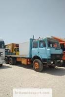 platform vrachtwagen Iveco Turbostar 190.30 13.8 diesel 10 tyres 26 ton left hand drive. 1989