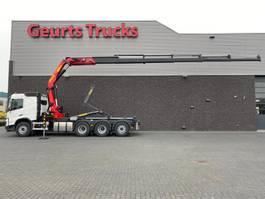 containersysteem vrachtwagen Volvo FMX 460 8X4 NEW MODEL + HAAKARMSYTEEM + PALFINGER PK 33002 EH-E KRAAN/KRAN/CRANE/GRUA 2021