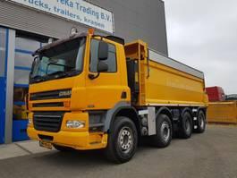 kipper vrachtwagen > 7.5 t Ginaf X 4241 S Kipper 8x4 geïsoleerd Nwe Apk 2009