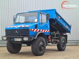 kipper vrachtwagen > 7.5 t Unimog U 1700 L 4x4 -(435C) - Kipper - Tipper - Benne 1981