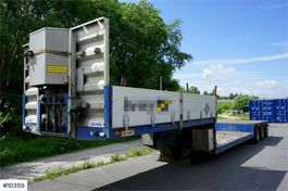 overige opleggers VAN g 3 axle Trailer with centeral grease, 4m extension 2005