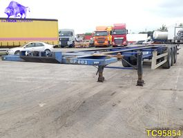 container chassis oplegger Pacton TX339A Container Transport 2003