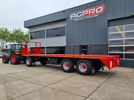 platte aanhanger vrachtwagen agpro 3 a 2021