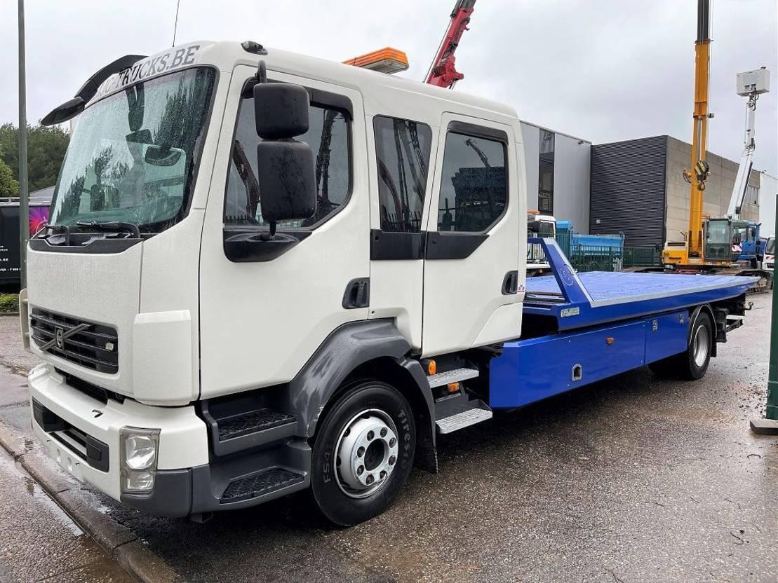 takelwagen-bergingswagen-vrachtwagen Volvo FL 240 DOKA - RECOVERY TRUCK / ABSCHLEPPER / DEPANNEUSE - SLIDING PLATFORM / SCHIEBE-PLATEAU - REMOTE CONTROL / FUNK - WINCH / WINDE / TREUILLE 2012