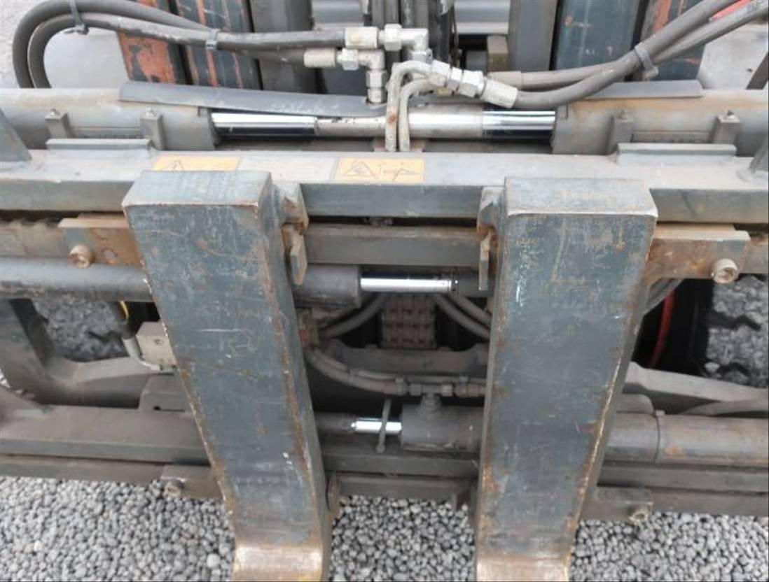 vorkheftruck Linde H 50 D Diesel Zinkenverstellung Seitenschieber 2010