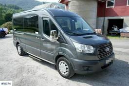 taxibus Ford Transit 131 hp 9 seats mini bus with HC ramp og 2 2018