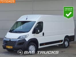 gesloten bestelwagen Citroën 435 163PK L4H2 XXL Lang Airco ACC LED 14m3 A/C 2021