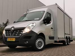 gesloten bestelwagen Renault 2.3 dci rolluik laadklep 2015