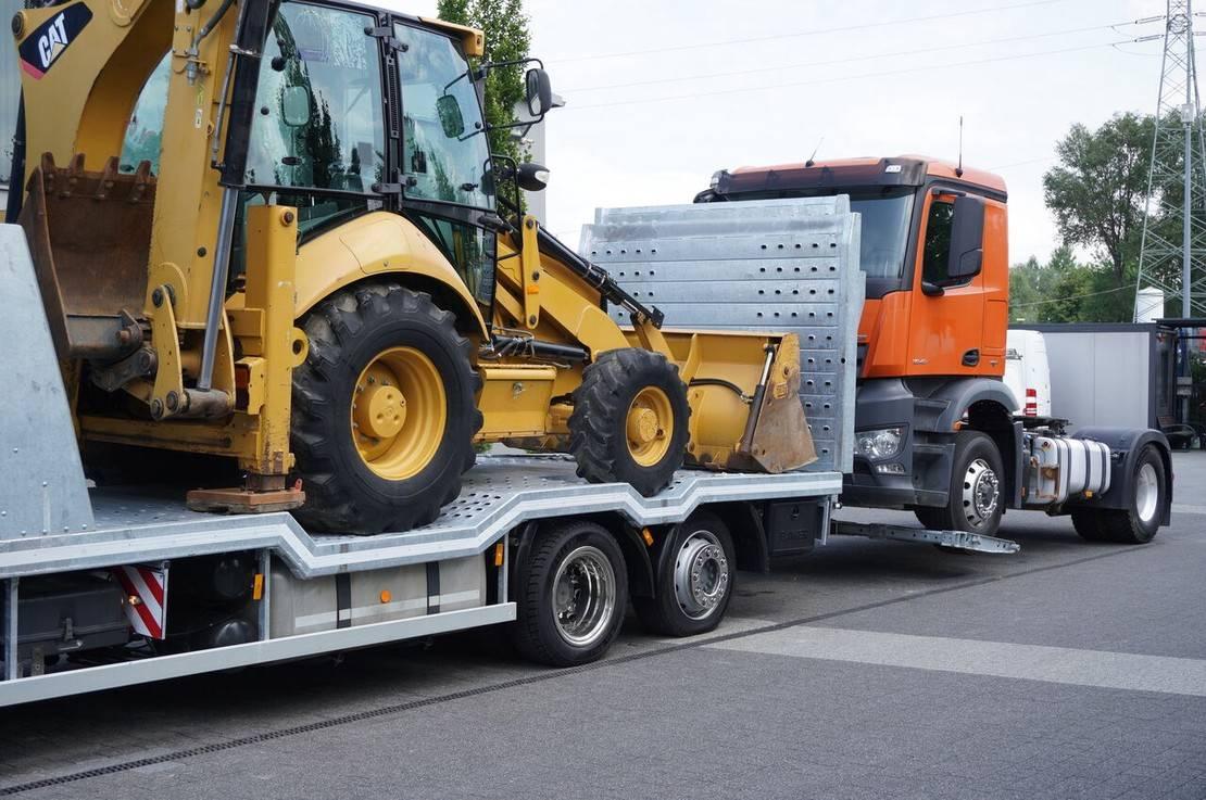 takelwagen-bergingswagen-vrachtwagen Mercedes-Benz Actros 2542 , E6 , MEGA , NEW BODY , car tow 10T , hydraulic ram 2017