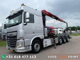 containersysteem vrachtwagen DAF XF 460 SC / 8X2 / Palfinger S260Z96 / 25T Hook / Manual / NL Truck 2016