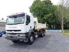 kipper vrachtwagen > 7.5 t Renault Kerax 420 -bi benne- retarder- very good condition