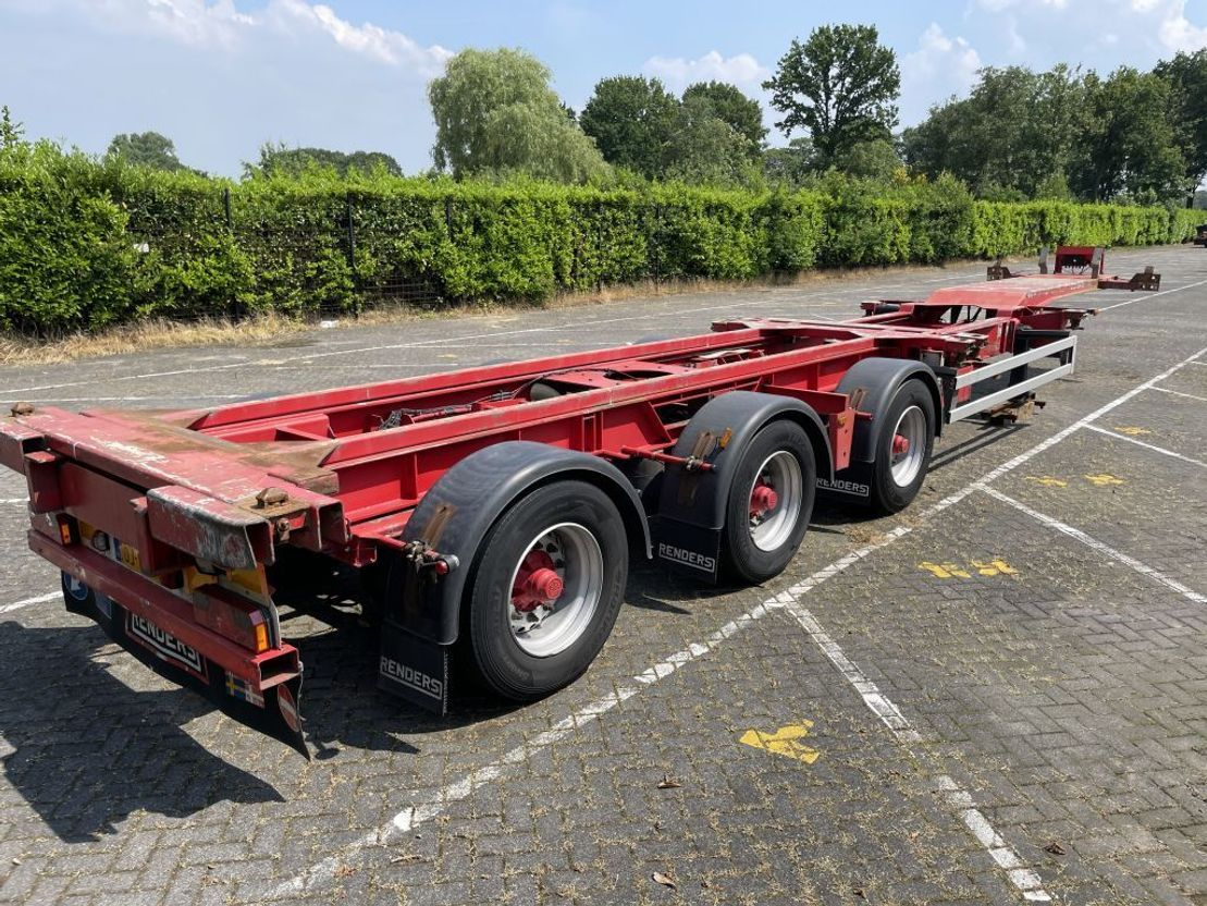 container chassis oplegger Renders RENDERS ROC 16.27 CC   X-Steering   Multi Container Chassis 20ft - 45ft 2007
