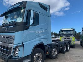 zware last trekker Volvo FH 16 Tractor Unit Heavy loading 2017