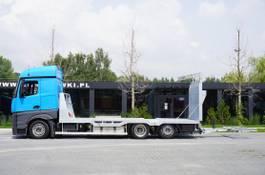 autotransporter vrachtwagen Mercedes-Benz Actros 2542 , E6 , MEGA , NEW BODY , car tow 10T , hydraulic ram 2017