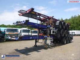 container chassis oplegger Dennison Stack - 3 x container trailer 20-30-40-45 ft 2008