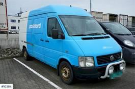 gesloten bestelwagen Volkswagen 110 hp van. Rep object 2004