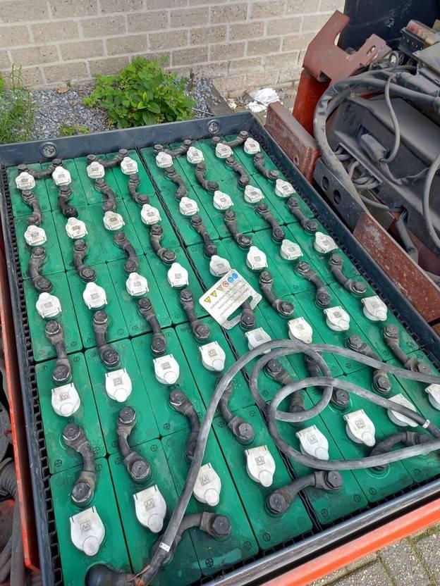 vorkheftruck Linde E20-02 TRIPLO Heftruck (1845 UUR) 2001