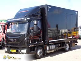 bakwagen vrachtwagen Iveco EuroCargo 190 80. + Dhollandia Lift + Mobile Workshop 2016