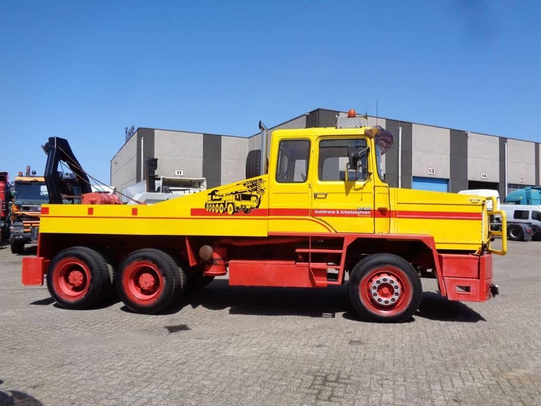takelwagen-bergingswagen-vrachtwagen MAN 33.280 + Manual + Tow trucks + winch + 6X4 1972