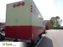 koelwagen aanhanger Fliegl TPS180 + 2 AXLE + TRS Cooling + Dhollandia Lift 2007