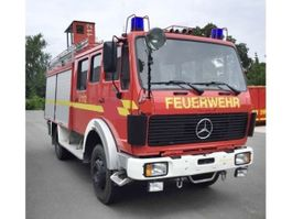 ambulance bedrijfswagen Mercedes-Benz 1222 AF 4x4, TLF16/25, Feuerwehr, Heckpumpe 1222 AF 4x4, TLF16/25, Feuer... 1987