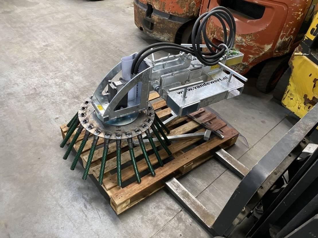vorkheftruck Diversen heftruck HYDRAULISCHE ONKRUIDBORSTEL passens op lepels shovel loader