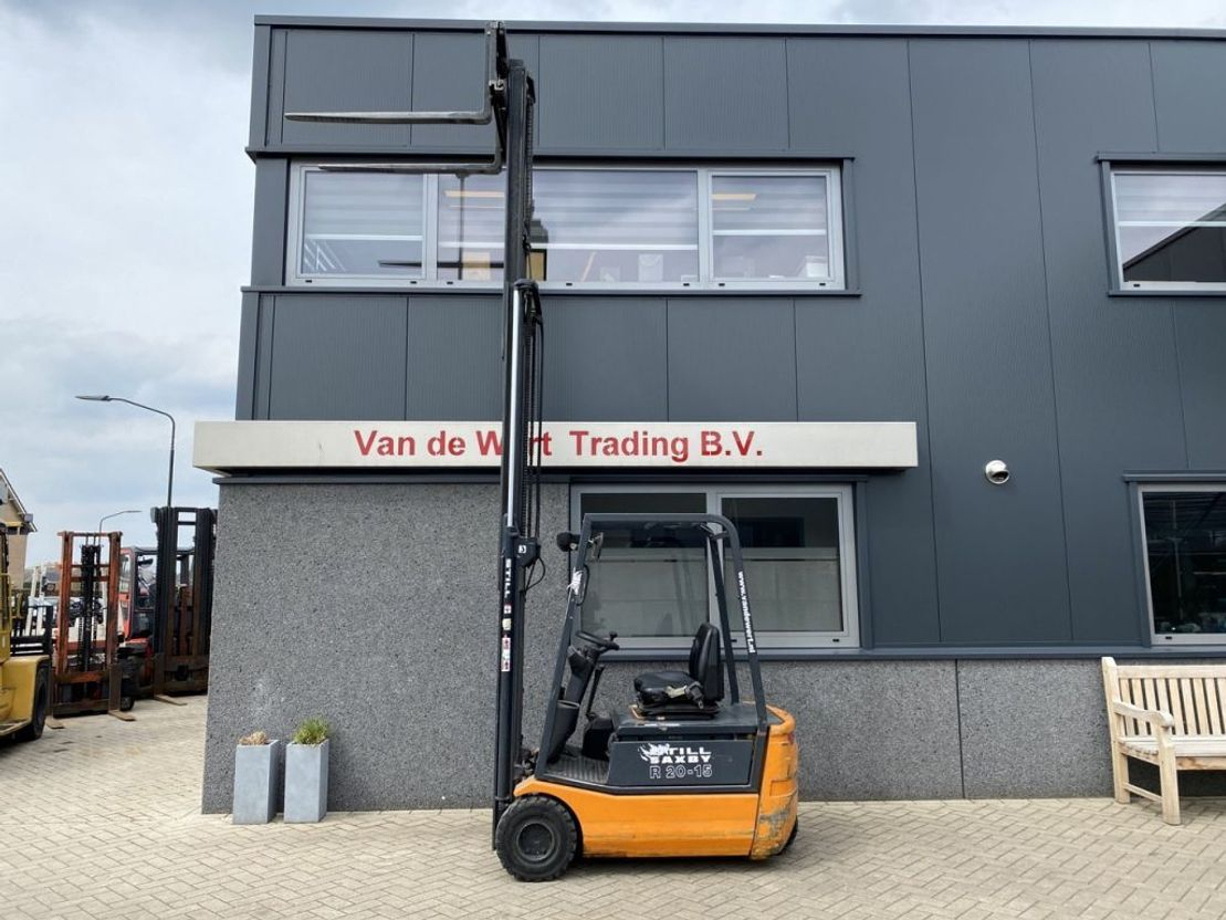 vorkheftruck Still R20-15 triplo430 freelift/sideshift elektrisch Still R20-15 triplo430 freelift/sideshift elektrisch 2000