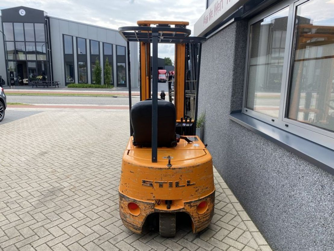 vorkheftruck Still R50-15 triplo 540 Freelift Elektrisch