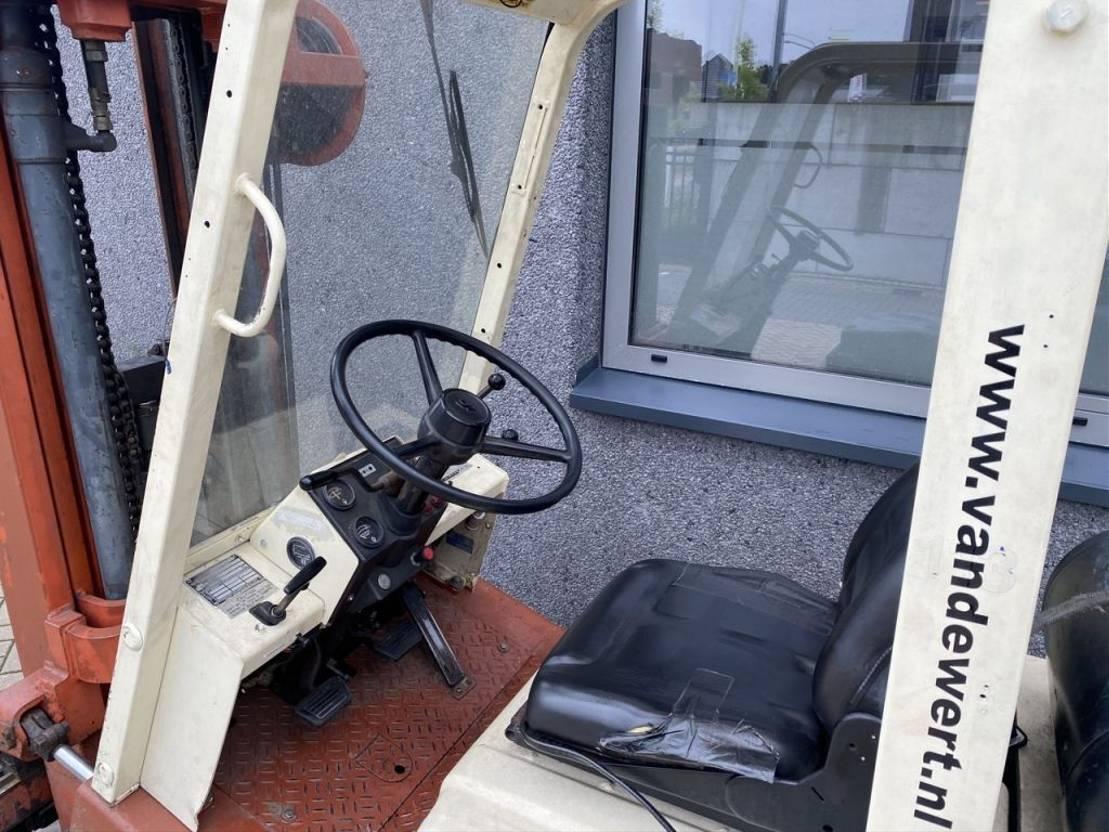 vorkheftruck Nissan FG18 triplo 470 Freelift/Sideshift LPG NISSAN FG18 triplo 470 Freelift/Sideshift LPG