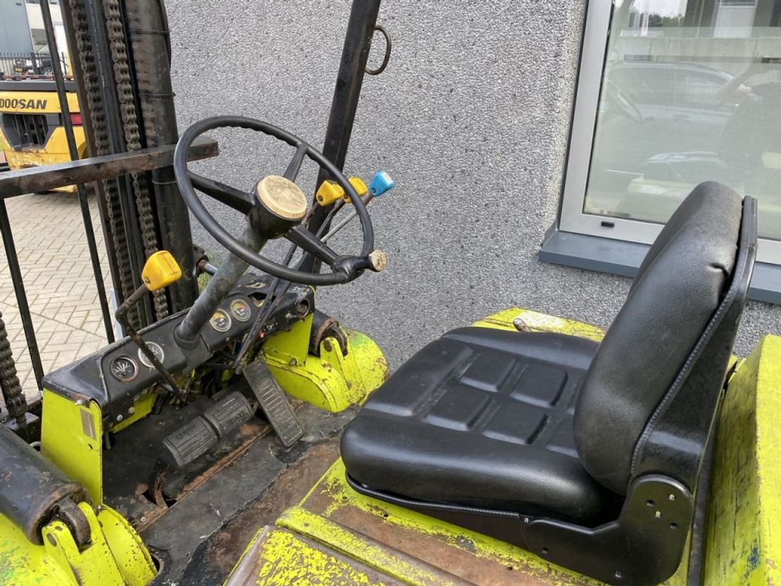 vorkheftruck Clark Y80PD Duplo 465 Sideshift Diesel Clark Y80PD Duplo 465 Sideshift Diesel 1977