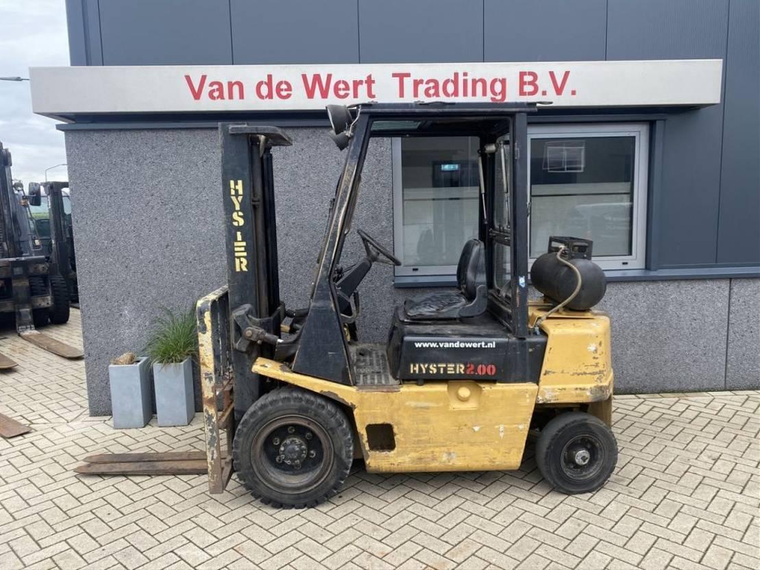 vorkheftruck Hyster H2.00XL duplo300 freelift LPG HYSTER H2.00XL duplo300 freelift LPG 1991