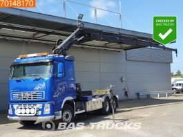 containersysteem vrachtwagen Volvo FH 420 6X2 6x2*4 Crane Hiab 166 E-5 Hipro Remote + Hook 2005
