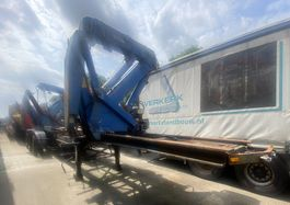 container chassis oplegger Klaus SAC 27 1991