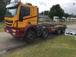 containersysteem vrachtwagen Iveco Trakker MTGC 4 450HK 2014