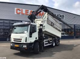 kipper vrachtwagen > 7.5 t Ginaf C3128N Hiab 16 ton/meter laadkraan 2011