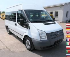 gesloten bestelwagen Ford FT 300 M 2.2 TDCI KLIMA 9-Sitzer 2012