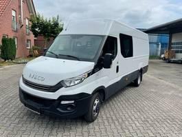 gesloten bestelwagen Iveco 35C16A8SV Doppelkabine Kasten 2018