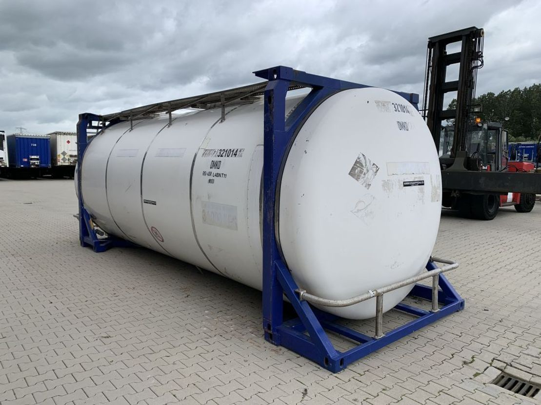 tankcontainer Diversen 32.010L, steam heating, UN PORTABLE, T11, L4BN, 5y/CSC: 09-23 1997