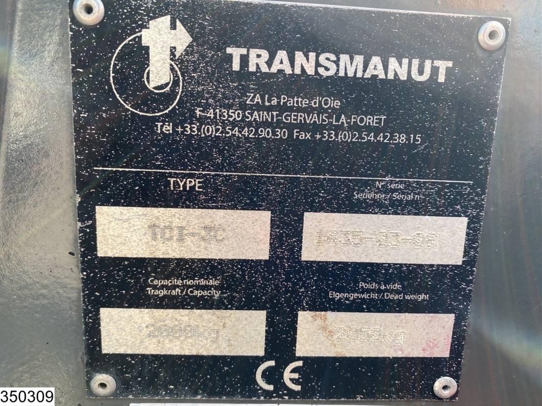 vorkheftruck Transmanut TCI 3C TCI-3c, 3x3, Lorry mounted forklift kooi-aap 2009
