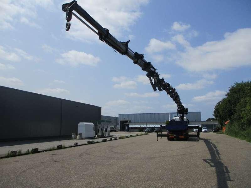 MAN - 32.480 EURO 4 HIAB 1055 E 8 HIPRO+FLYJIP 145 X FULLSTEELSUSPENSION TREKKER-BAKWAGEN COMBIE 4