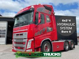 standaard trekker Volvo FH 540 6x2*4 steering 3 axl. Full Air suspension 3000mm weelbase hydr. system special interior 2015