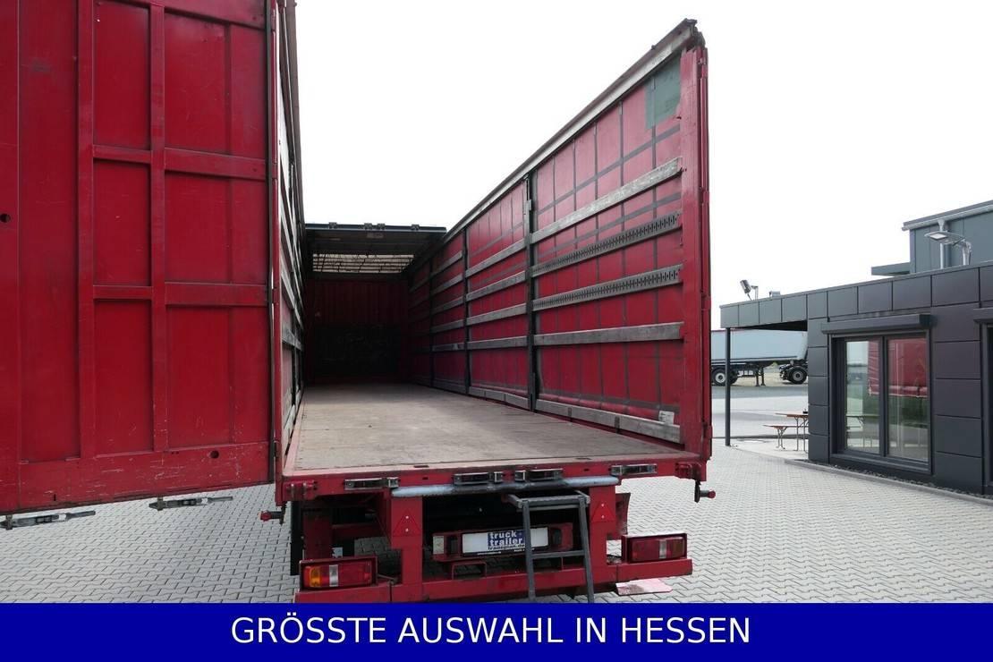 huifzeil oplegger Krone Staplerhalterung Lenkachse Hubdach €259.-mtl 2011