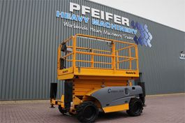 schaarhoogwerker wiel Haulotte COMPACT 12DX Diesel, 4x4 Drive, 12m Working Height 2006
