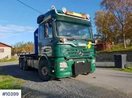 containersysteem vrachtwagen Mercedes-Benz 2650L 6x4 hook truck w/ crane flake 2005