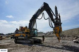 rupsgraafmachine Volvo EC300EL with AMV XD1155T Drilling Tower , radio co 2016
