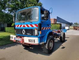 chassis cabine vrachtwagen Renault S170 4X4 1990