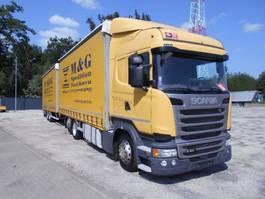 mega-volume vrachtwagen Scania R410 HIGHLINE STREAMLINE Tandem JUMBO 120m3 2015