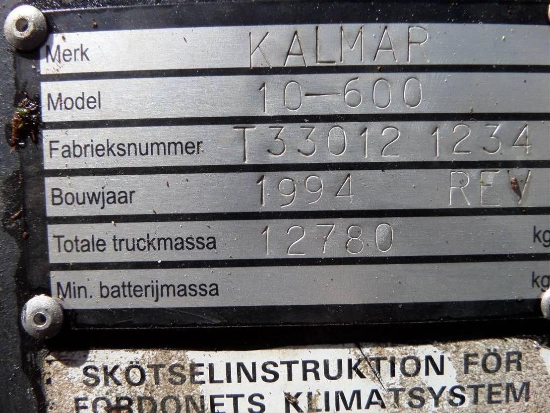 vorkheftruck Kalmar 10-600 1994