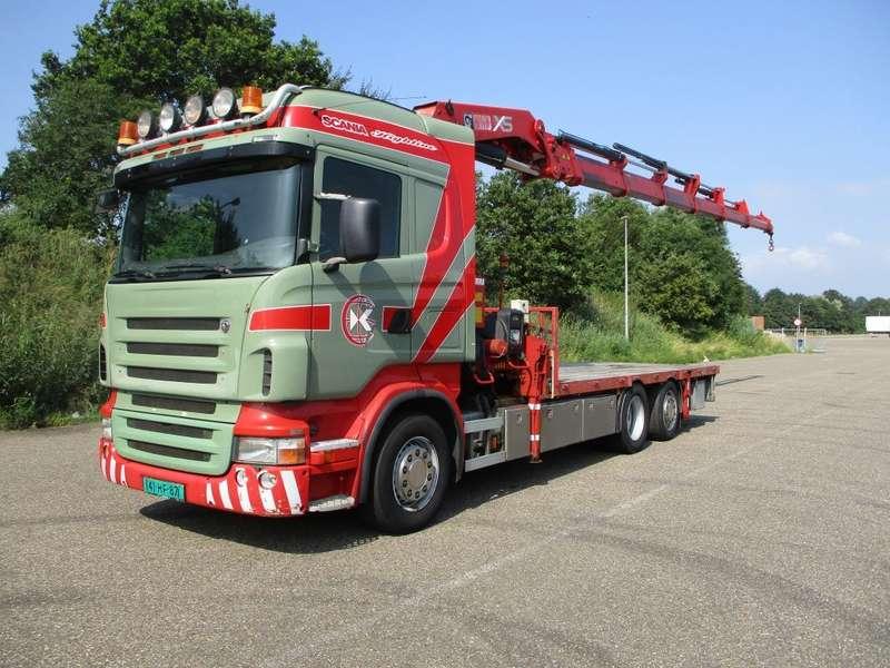 Scania - R 380 EURO 5 HIAB 477 E 6 XS HI-DUO 1